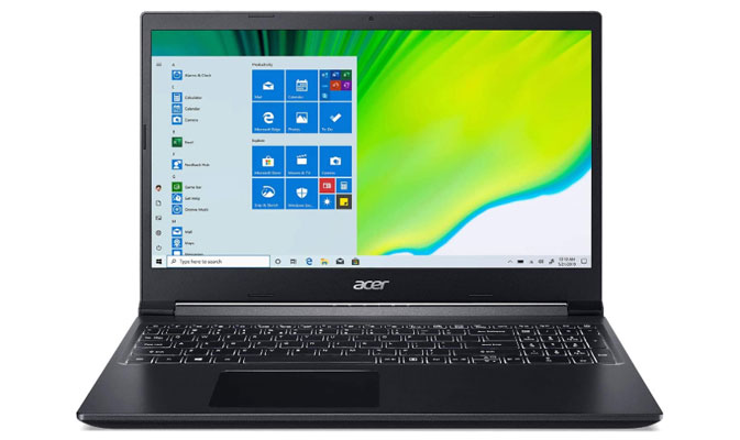 Acer Aspire 7 - Best Gaming Laptops Under 800 Dollars